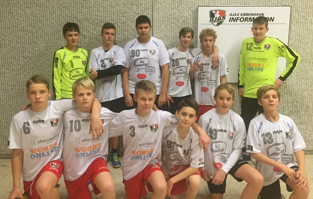 ajax 2 - U14 drenge 2015-2016