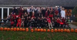 Halloweenfest i klubhuset lørdag den 26. oktober 2013