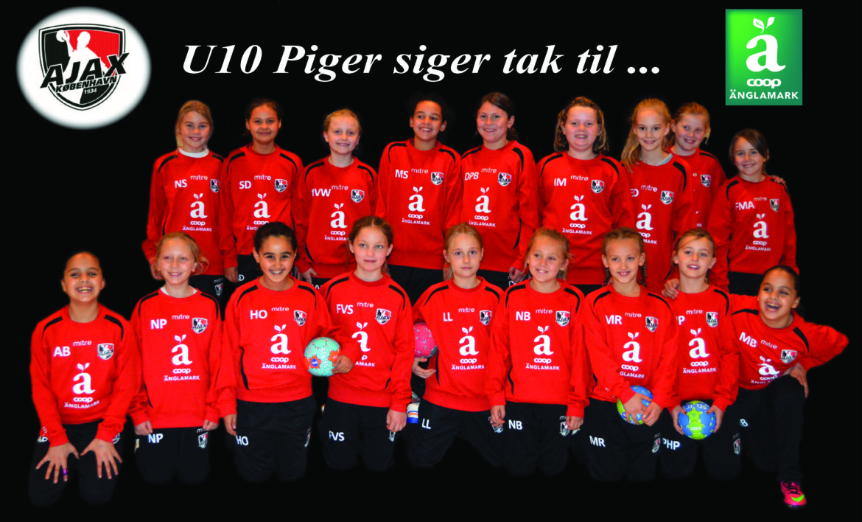 U10 piger – holdbilleder