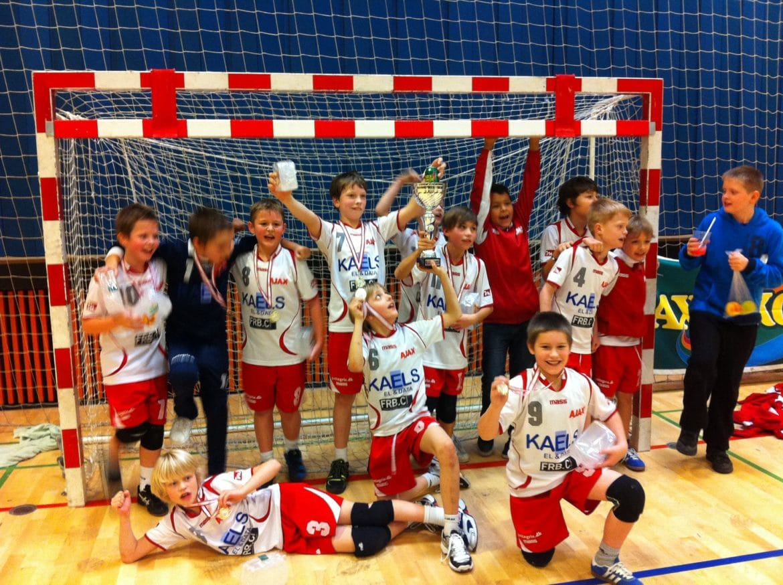 U10 drenge – Faxe Kondi Julecup 2011 – Guldmedaljer