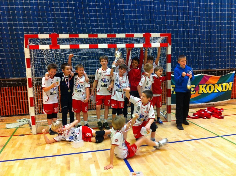U10 drenge - Faxe Kondi Julecup 2011 - Guldmedaljer