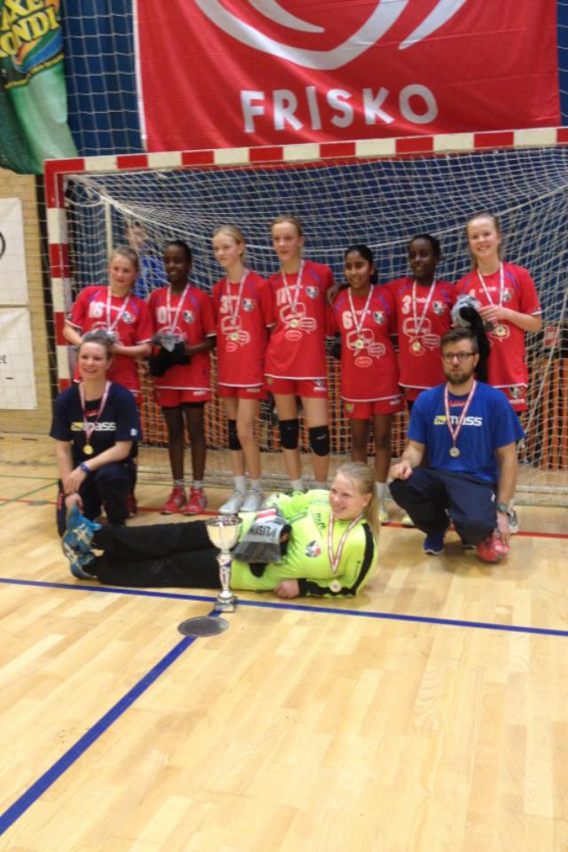 U12 piger – Faxe Kondi Julecup 2012 – Guldmedaljer