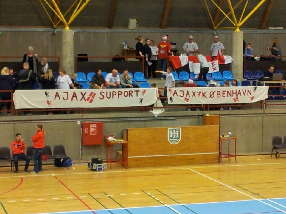 1. herrer Holte IF 20 – 21 AJAX København 6. januar 2013