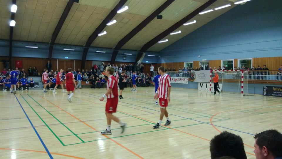 1. herrer AJAX København 38 – 22 HIK – fredag den 16. november 2012