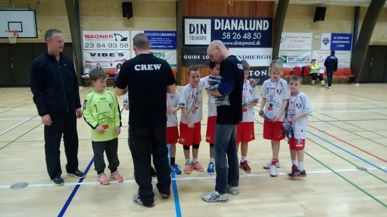 U10 drenge - Faxe Kondi Julecup 2012 - Bronzemedaljer