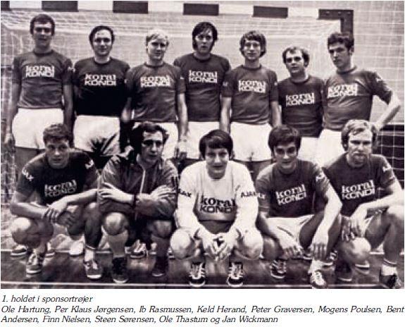 1 herrer holdet 1971 Koral Kondi
