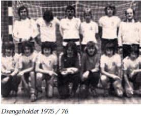 Drengeholdet 1975-1976
