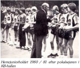 Herrejunior 1980-1981 pokalmestre