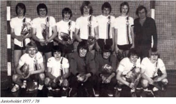 Juniorholdet 1977-1978