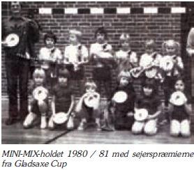 Mini-Mix 1980-1981 vinder Gladsaxe Cup