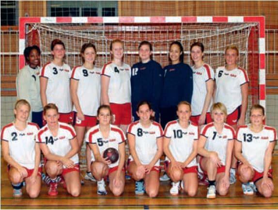 1 damer holdet 2004