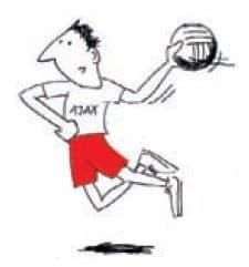 Ajax mand hopskud - new look