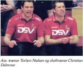 Christian Dalmose - Torben Nielsen - Træner 1. herrer 2008