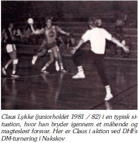 Claus Lykke i aktion