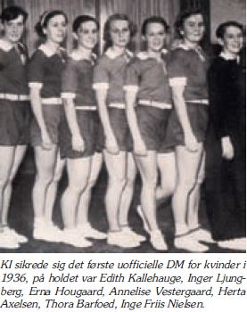 Danmarksmestre 1936 - KI