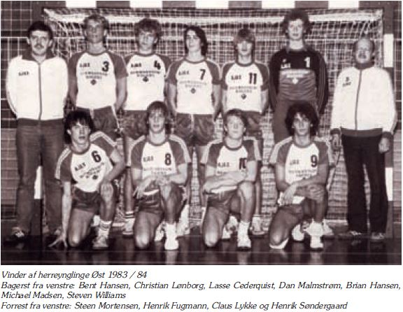 Herreynglinge 1983-1984 - Vinder Herreynglinge Øst