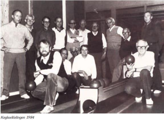 Kegleafdelingen 1984