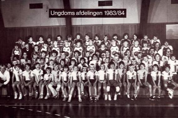 Klubbillede 1983-1984 - ungdomsafdelingen