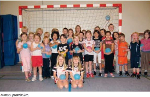 Mini-holdet 2009 i Prøvehallen
