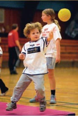 Mini-træning 2004 dreng