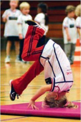 Mini-træning 2004 kolbøtte