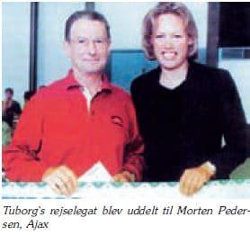 Morten Petersen - Tuborgs rejselegat 1998