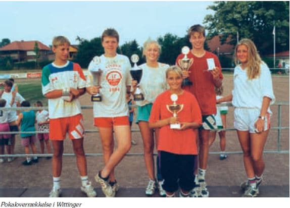 Pokal overrækkelse Wittinger 1994