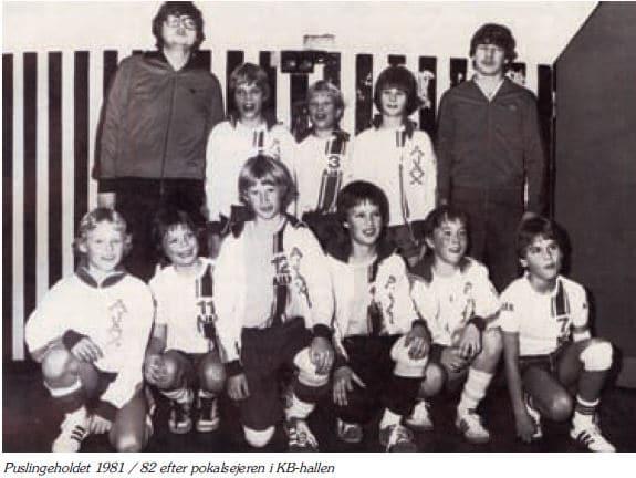 Puslinge 1981-1982 pokalmestre