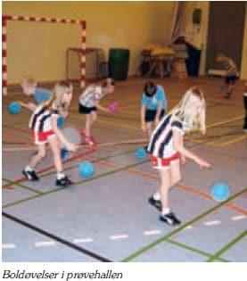 Træning i Prøvehallen 2009