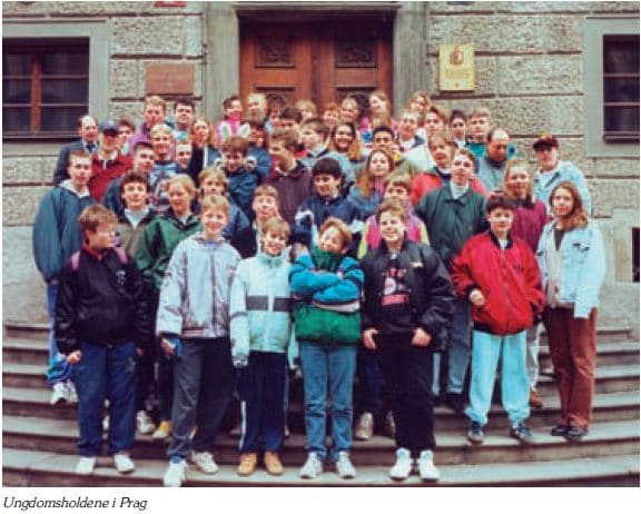Ungdomsholdene Prag 1993