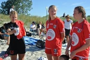 U16 Pige til SM i Strandhåndbold