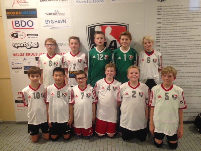 Gamle Billeder U12d Ajax København Håndbold Ajax København Håndbold