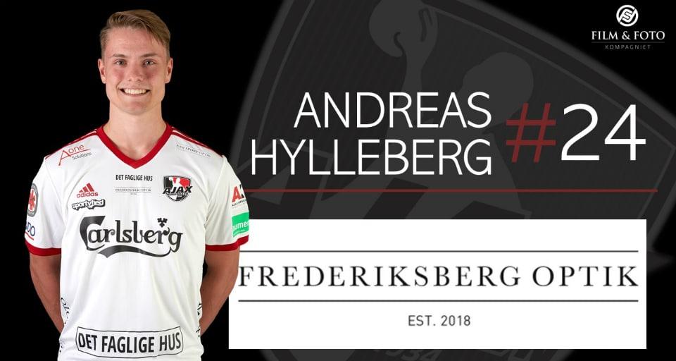 24 - Andreas Hylleberg