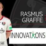 Rasmus Graffe forlænger med Ajax København – til 2023