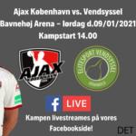 Ajax København herrer er klar til første kamp i 2021