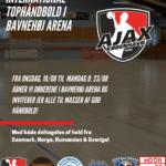 International håndbold i Bavnehøj Arena!