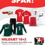 Ajax holdsæt 21-22